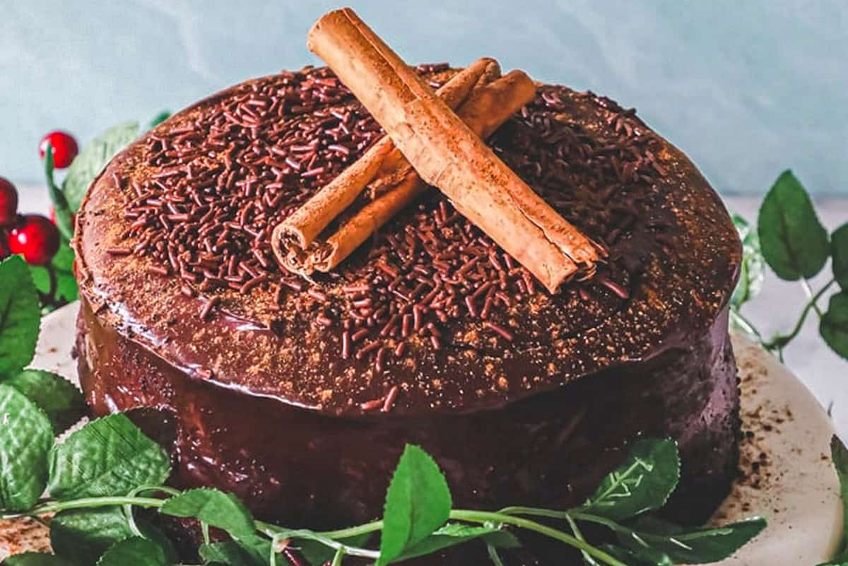 Chocolate Chinese Five-Spice Cake - Authentic Chinese Foods