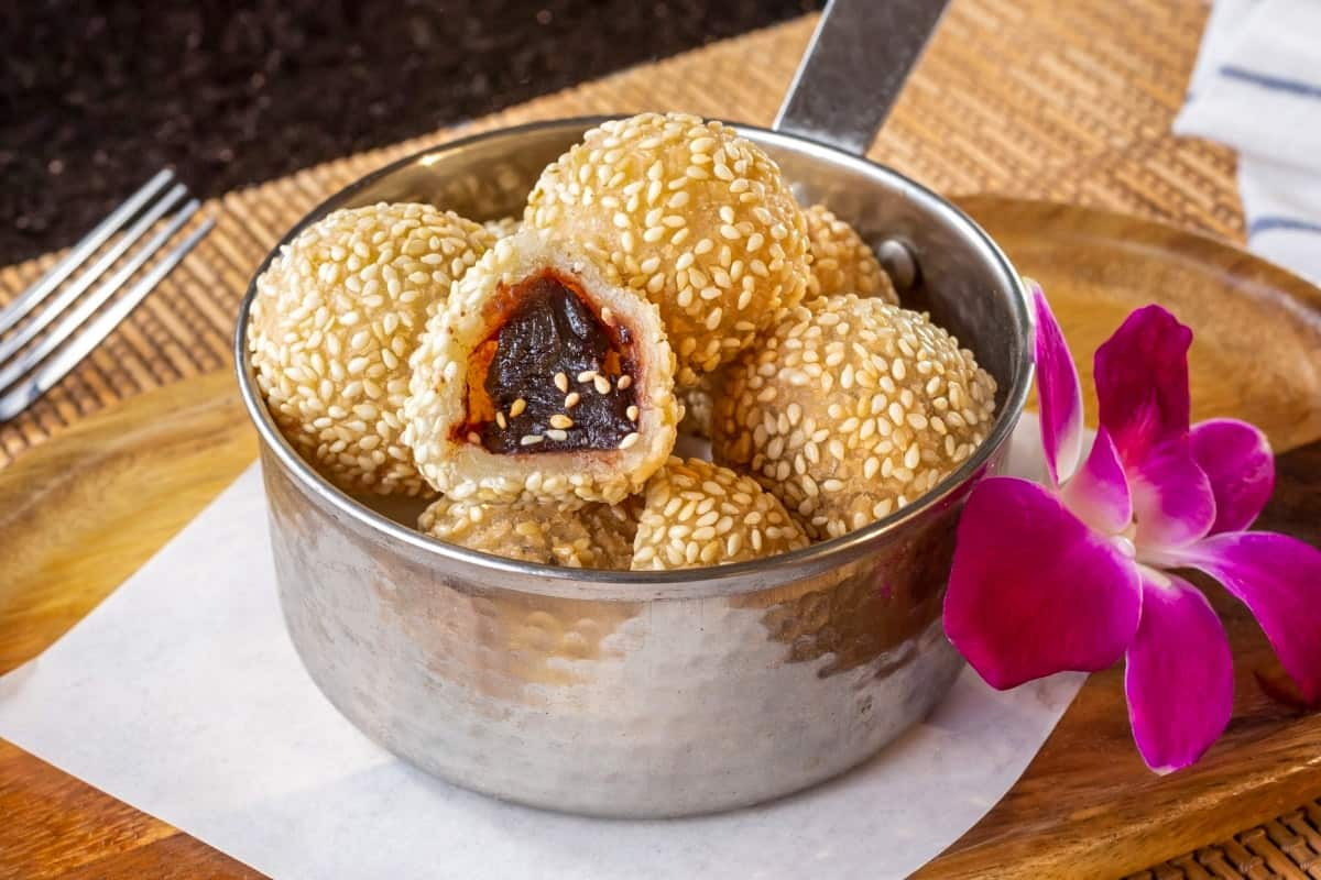 Sesame Seed Balls - Authentic Chinese Foods