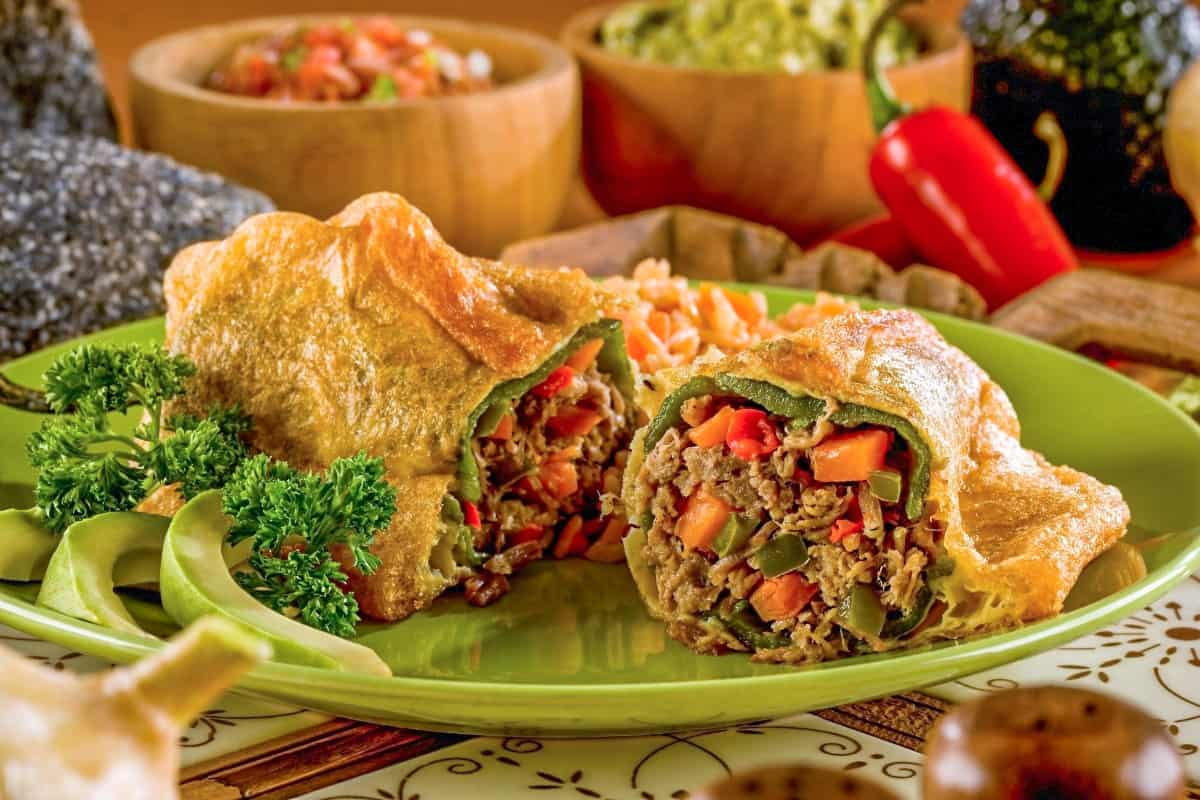 10. Chile Rellenos - Guatemala Foods