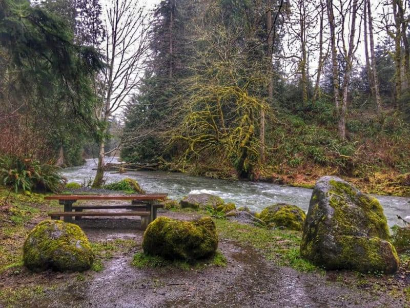 15 Lyre River DNR Olympic National Park Boondocking