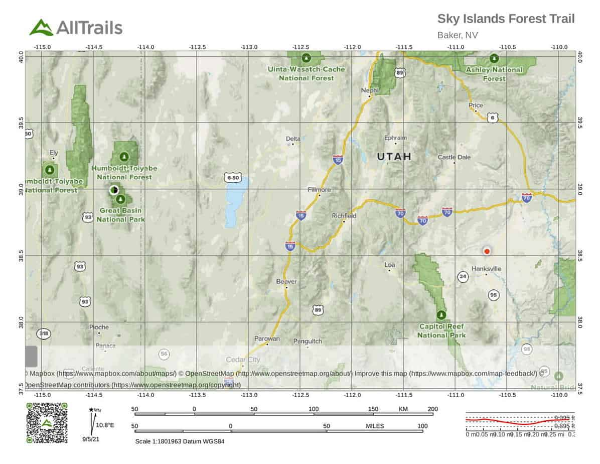 4. Sky Islands Forest Trail-1 Great Basin National Park