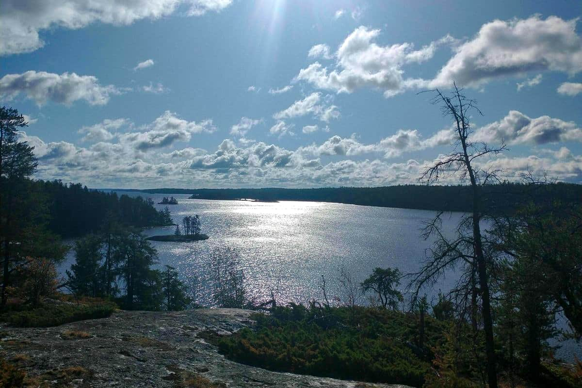 8. Cruiser Lake To Brown Lake and Anderson - Voyageurs National Park Boondocking Locations