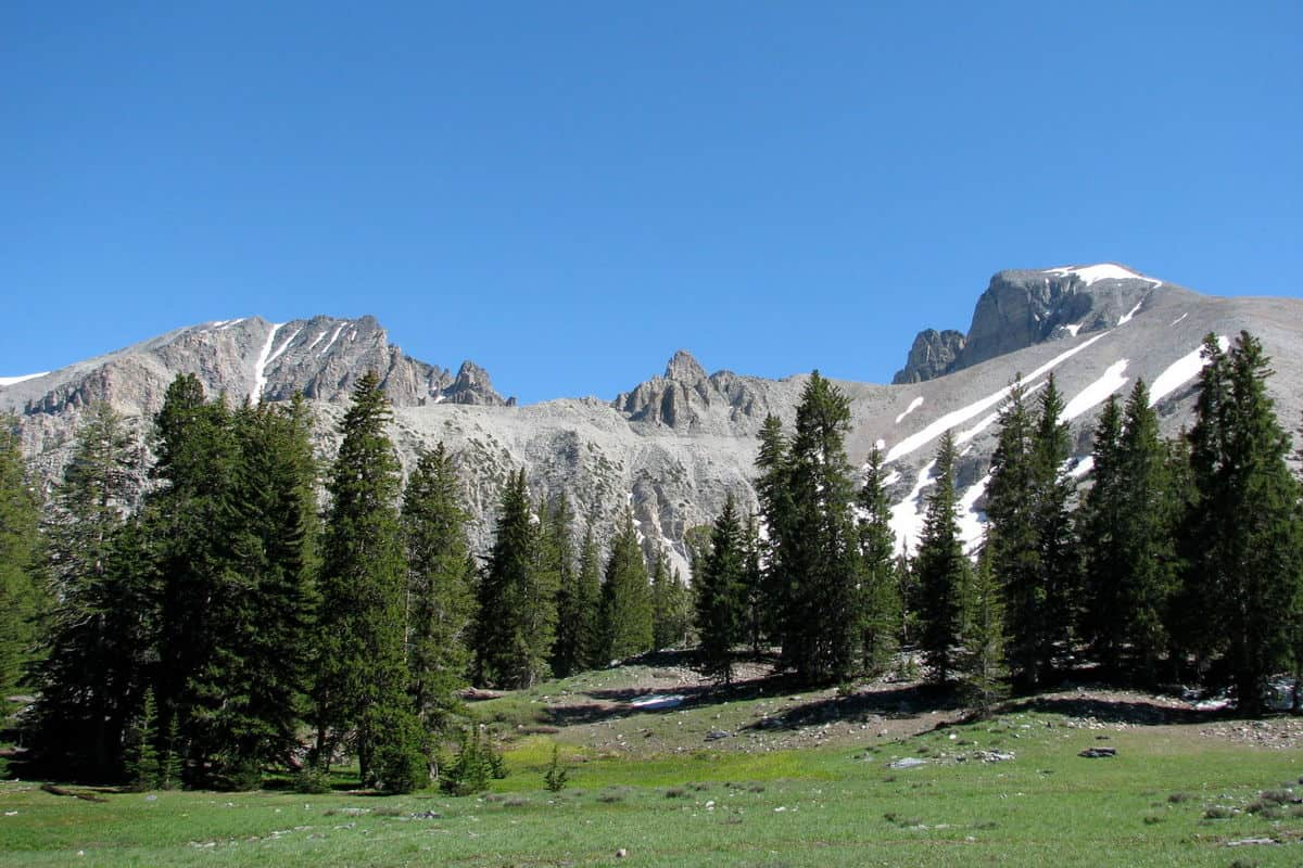 Great Basin National Park Mountains
