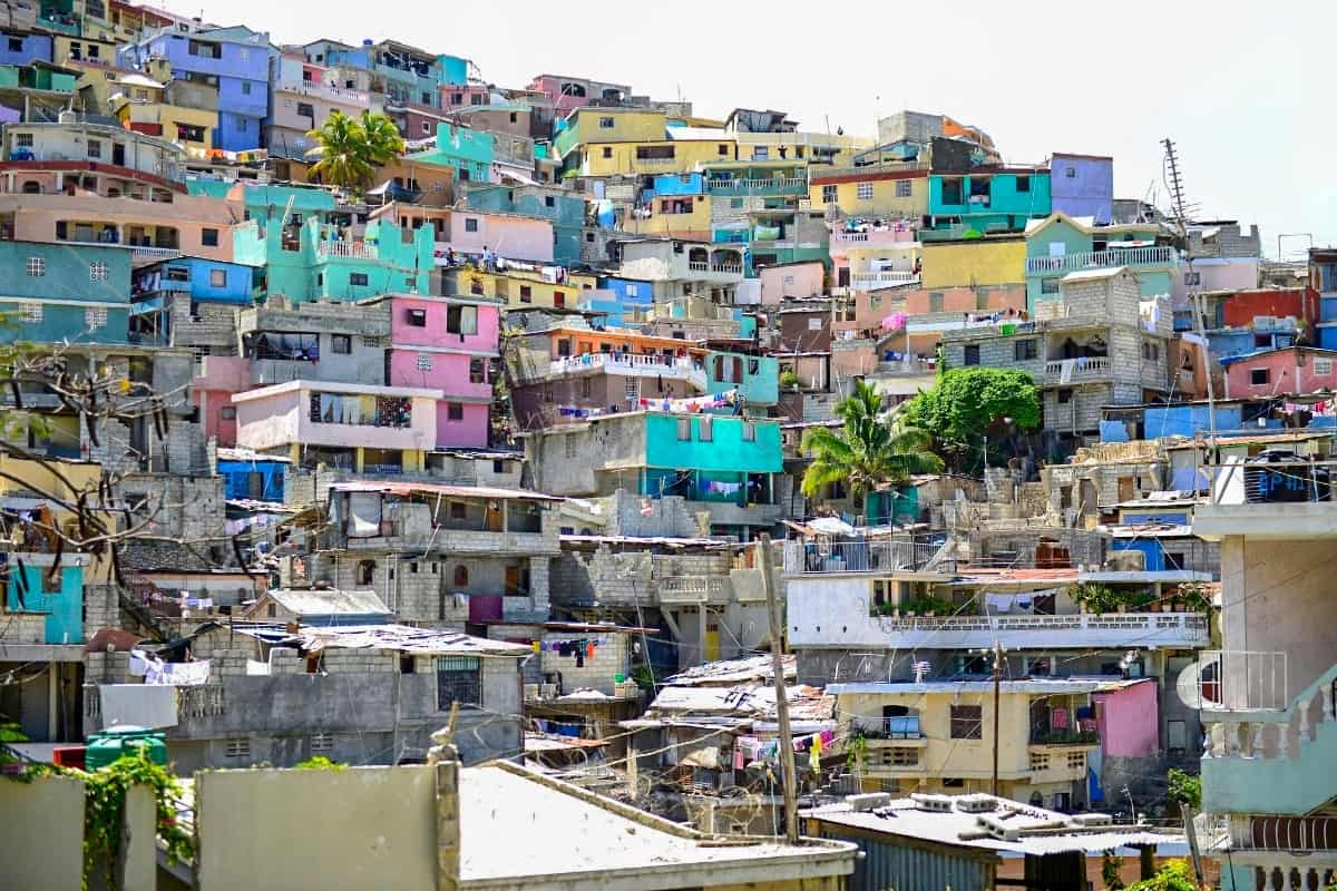 Stacked Housing in Port-au-Prince, Haiti