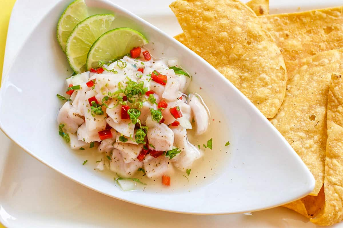 Ceviche - Costa Rican Traditional Foods