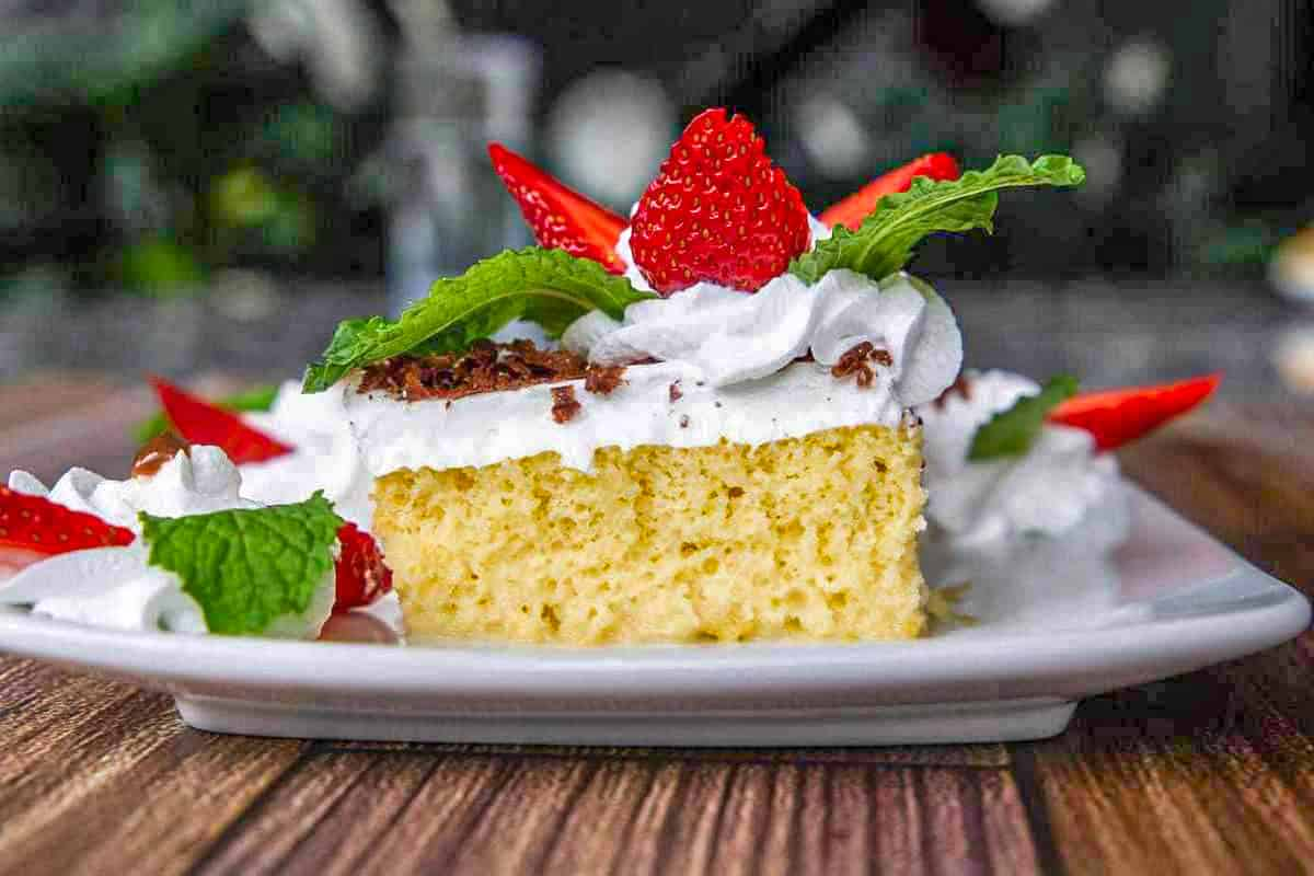 Tres Leches Cake - Costa Rican Desserts