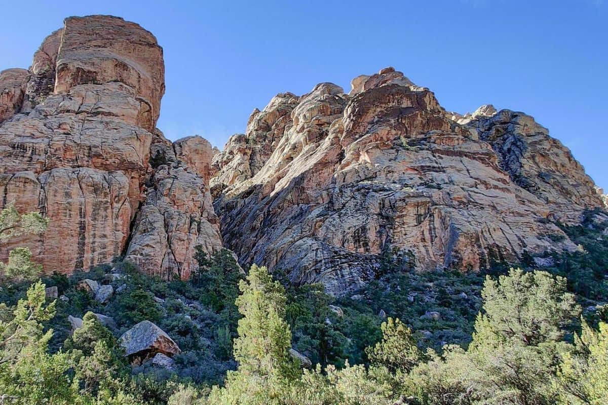 4. Red Rock Canyon Trails at White Rock and La Madre Springs Loop - Red Rock Canyon Trails