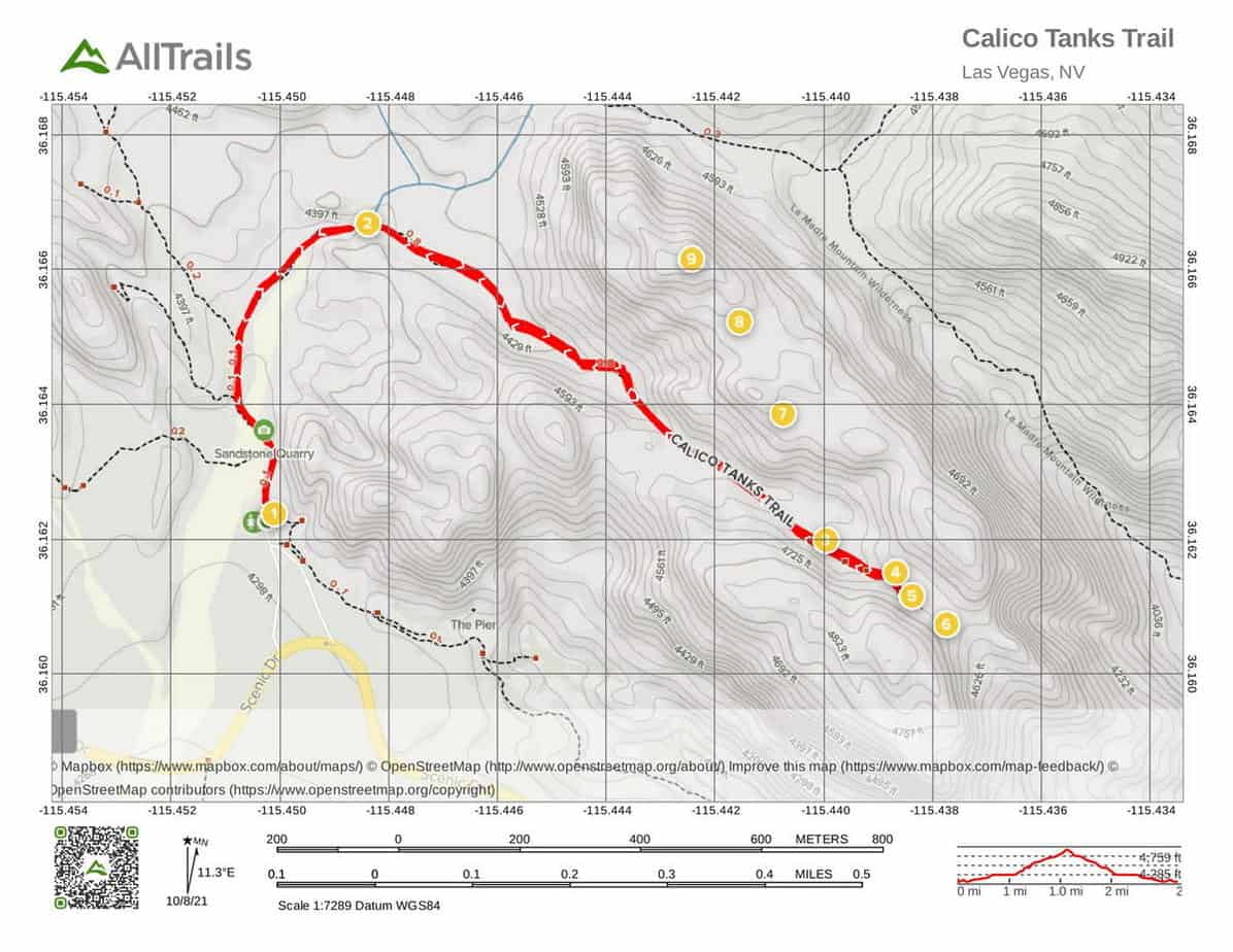 8. Red Rock Canyon Trails at Calico Tanks Trail-1