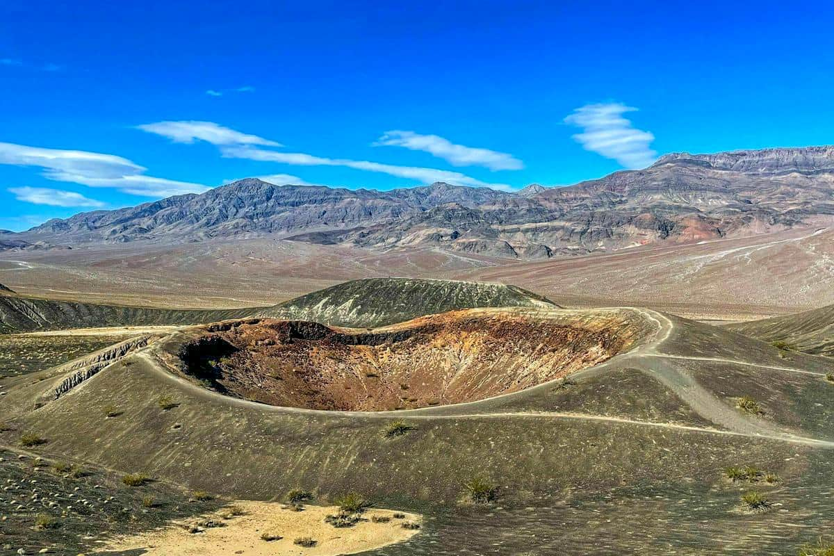 8. Ubehebe and Little Hebe Crater TrailBoondocking Locations Near Death Valley National Park